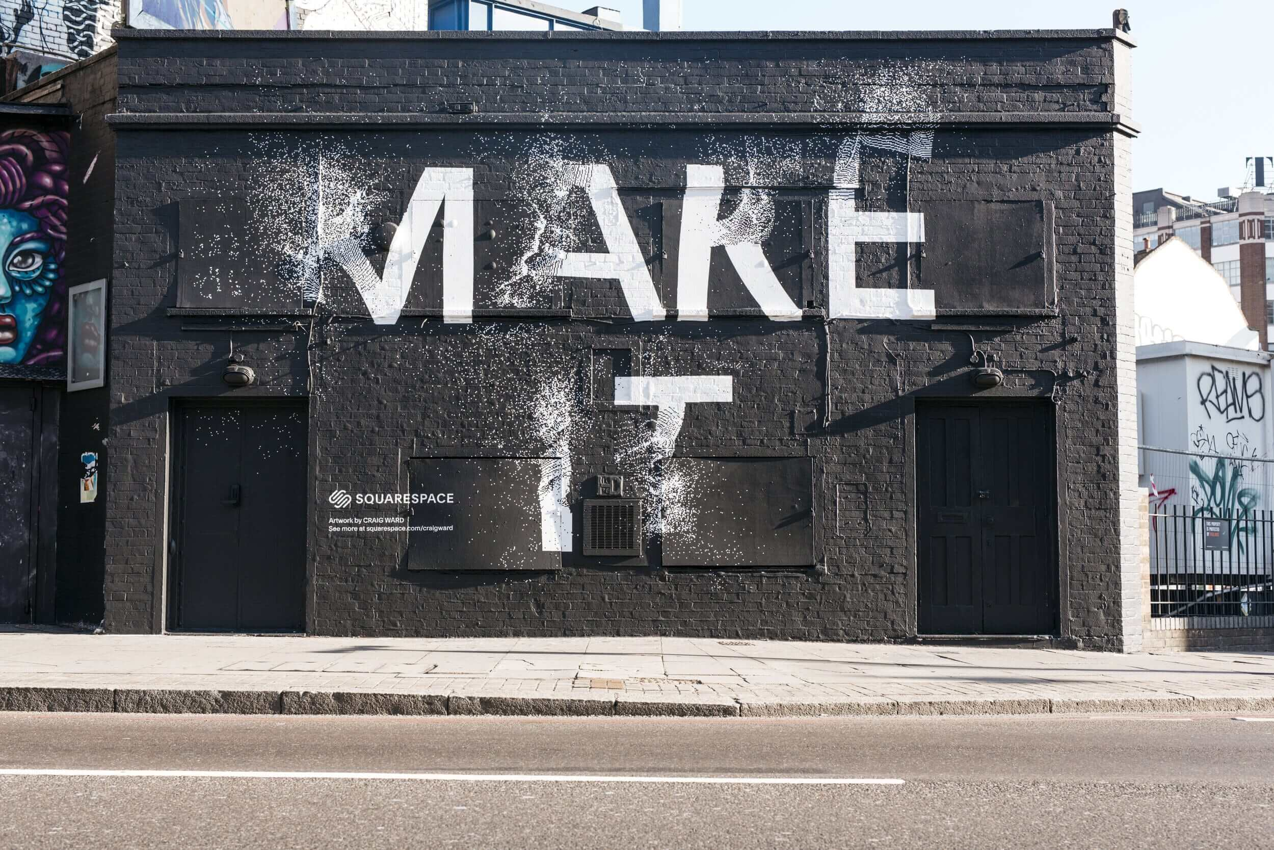 Designer Interview With Craig Ward - squarespace_mural