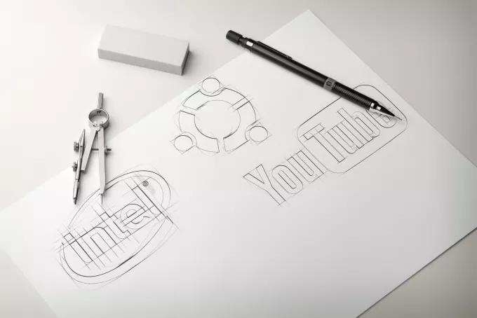 Logo Design - Logo Designer - Custom Logo Sketching