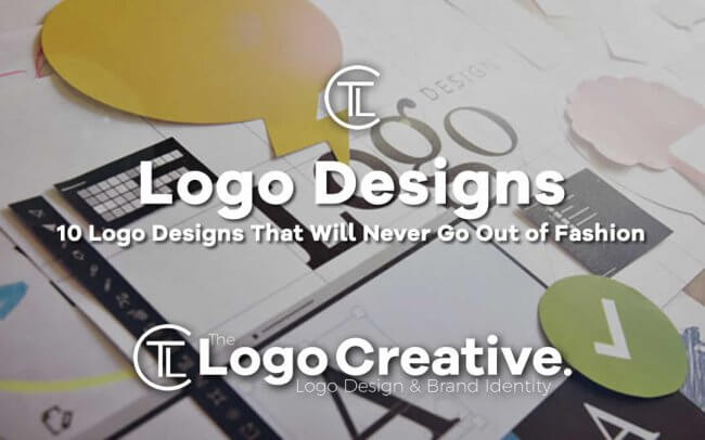 10 Logo Designs That Will Never Go Out of Fashion
