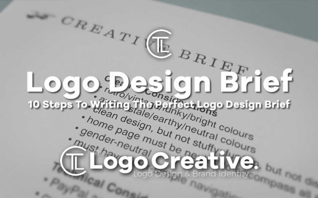 10 Steps To Writing The Perfect Logo Design Brief