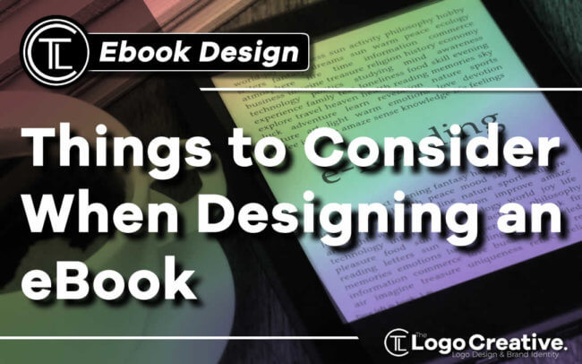 10 Things to Consider When Designing an eBook