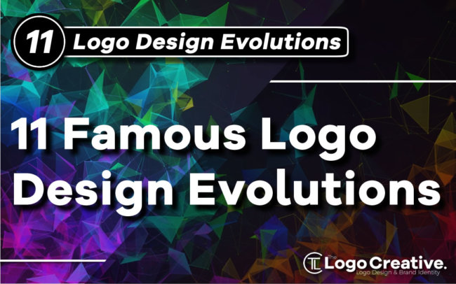 11 Famous Logo Design Evolutions