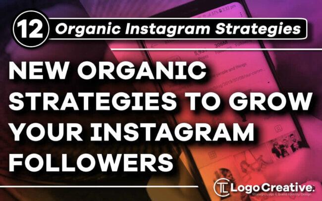 12 New Organic Strategies To Grow Your Instagram Followers