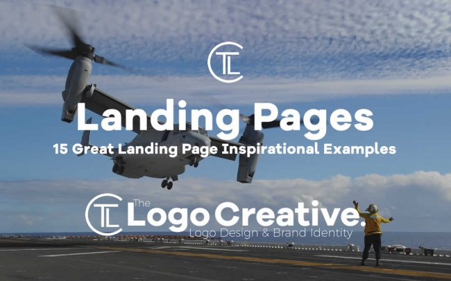15 Great Landing Page Inspirational Examples