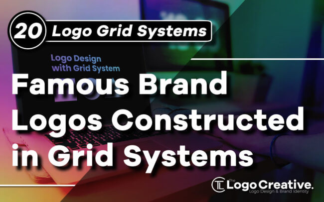 20 Famous Brand Logos Constructed in Grid Systems