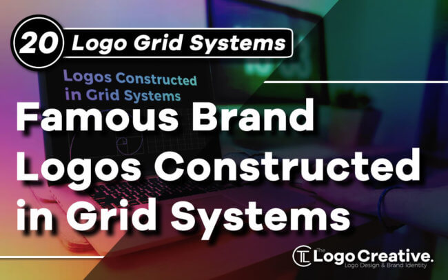 20 Famous Brand Logos Constructed in Grid Systems.