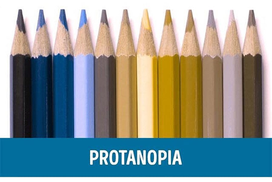 Color-blindness-demonstration-Protanopia-Vision