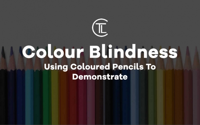 Colour Blindness Using Coloured Pencils To Demonstrate