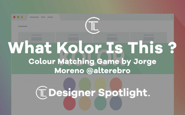 What Kolor Is That - colour matching game by jorge moreno