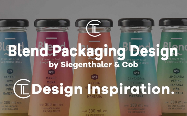Blend Packaging Design by Siegenthaler &Cob