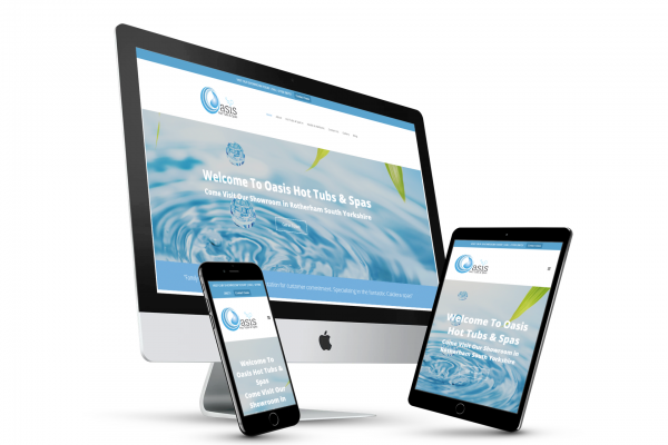 Oasis Hot Tubs And Spas Website Design
