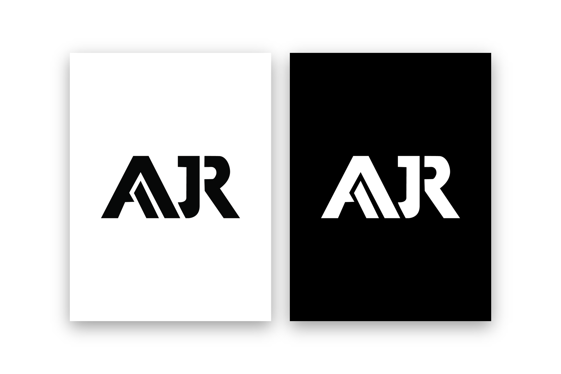 AJR Logo & Visual Brand Identity Design