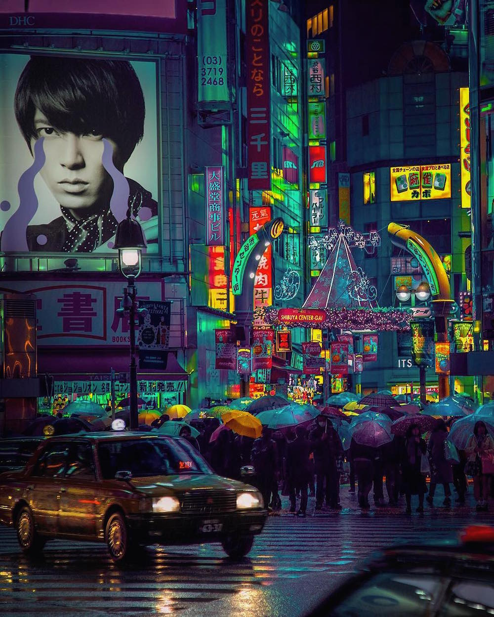 Amazing Neon Photos of Tokyo's Colorful Night Life