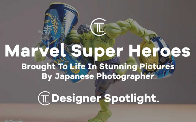 Marvel Super Heroes Brought To Life In Stunning Pictures By Japanese Photographer
