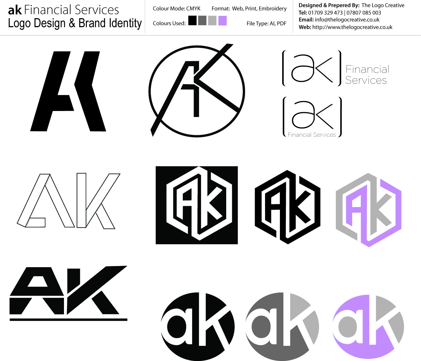 ak Financial Services Logo Concepts_TLC
