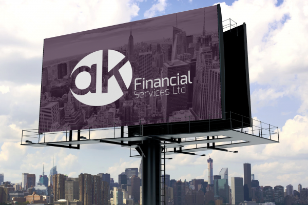 ak Financial Services Logo and Brand Identity Design_11