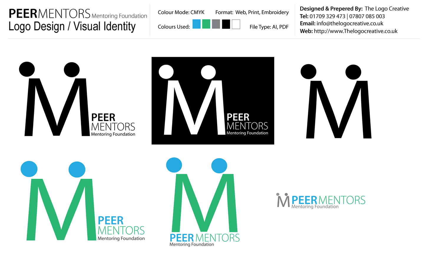 Peer Mentors Logo Design Presentation_TLC