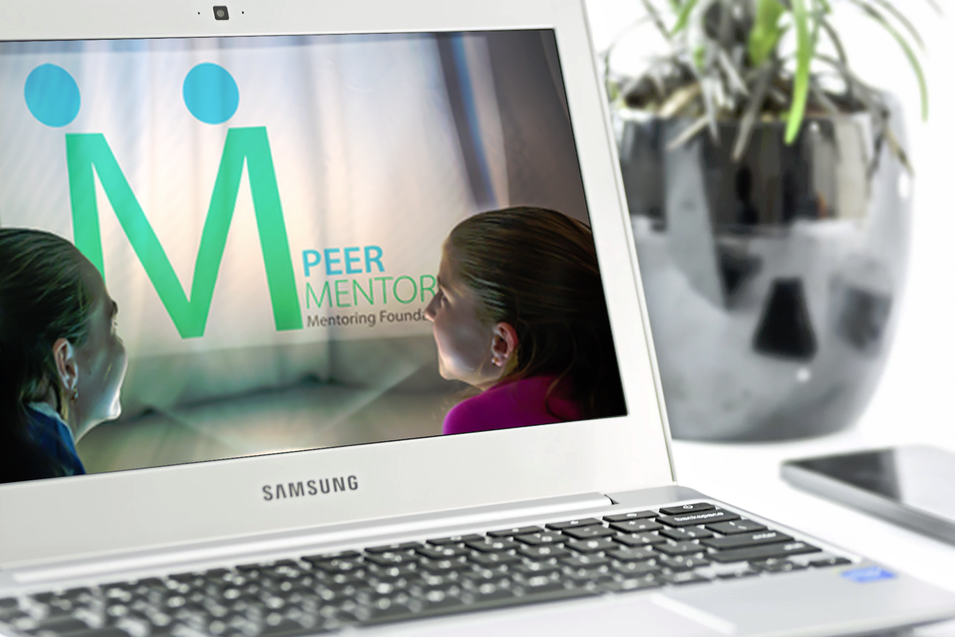 Peer Mentors Logo Design and Brand Identity Design