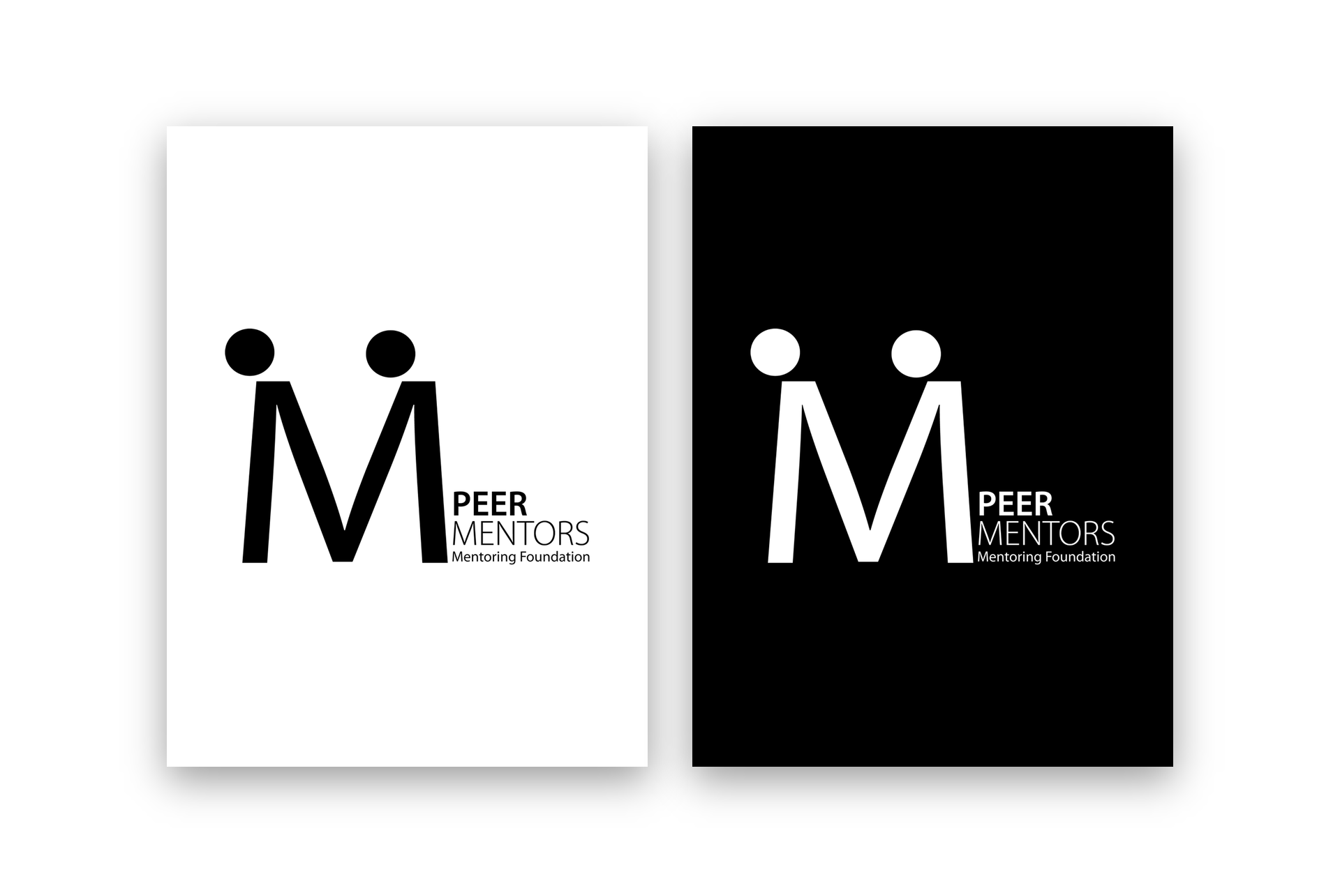 Peer Mentors - Montoring Foundation Logo Design, Visual Identity1