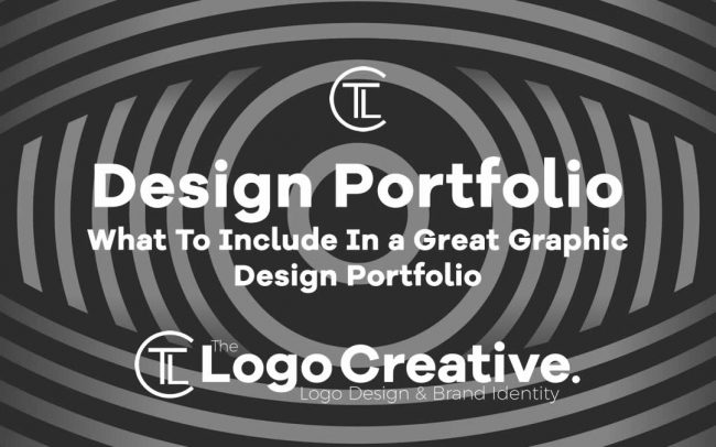 What To Include In a Great Graphic Design Portfolio