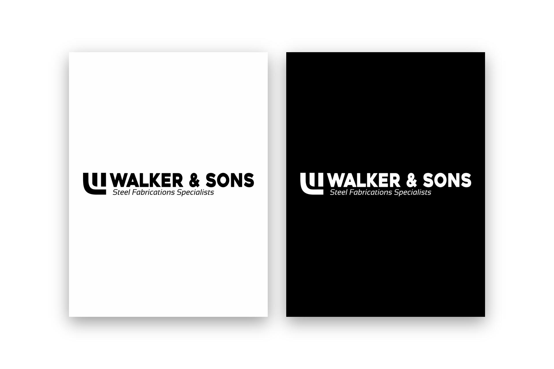 Walker & Sons Logo Design - Brand Identity Design_1