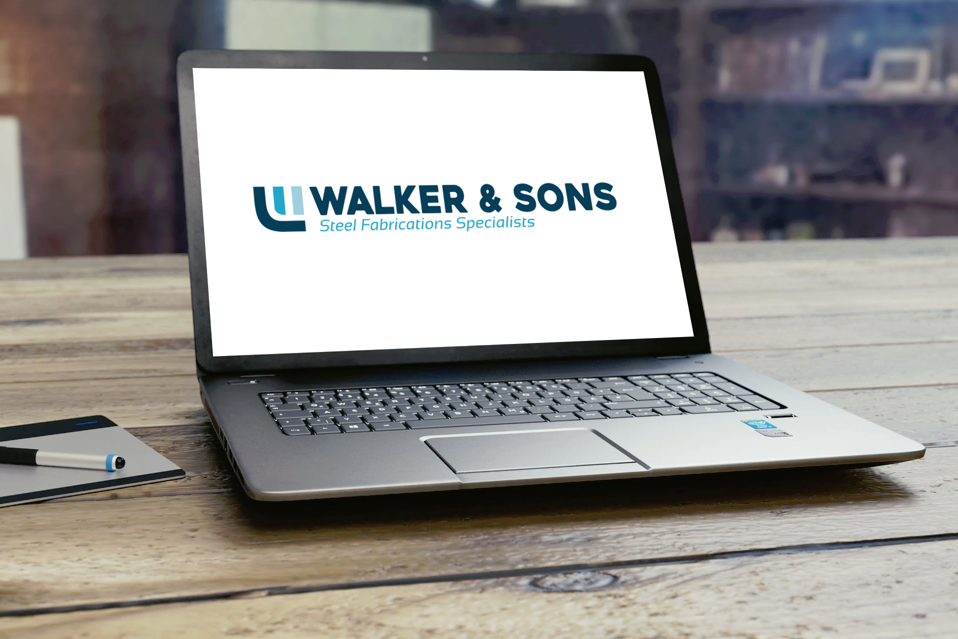 Walker & Sons_Walker & Sons Logo Design - Brand Identity Design
