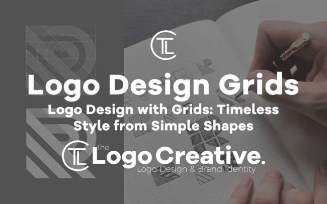 Logo Design with Grids Timeless Style from Simple Shapes