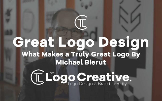 What Makes a Truly Great Logo By Michael Bierut