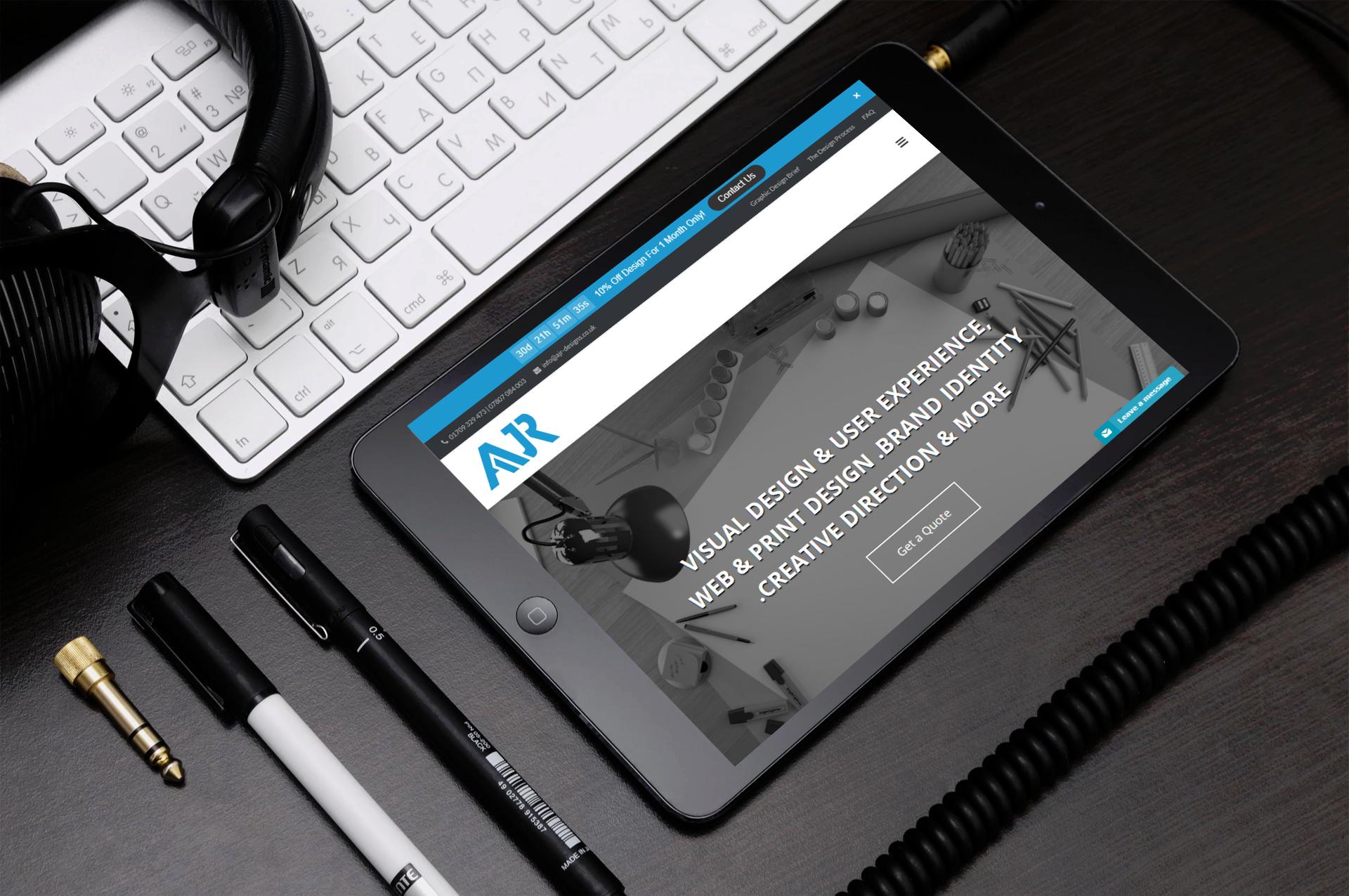 affordable website design in Rotherham, Sheffield, Doncaster, Barnsley, South Yorkshire, UK