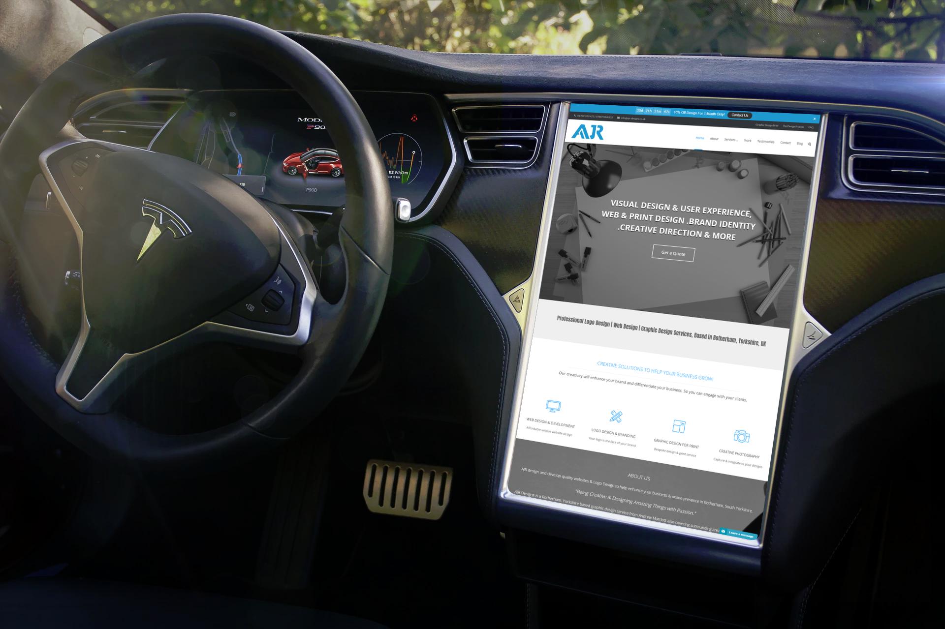 mobile responsive website design services designer
