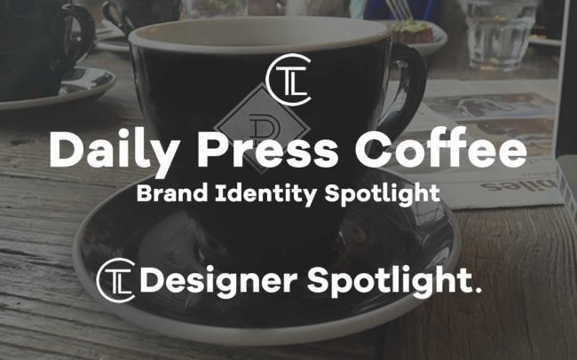 Daily Press Coffee Brand Identity Spotlight
