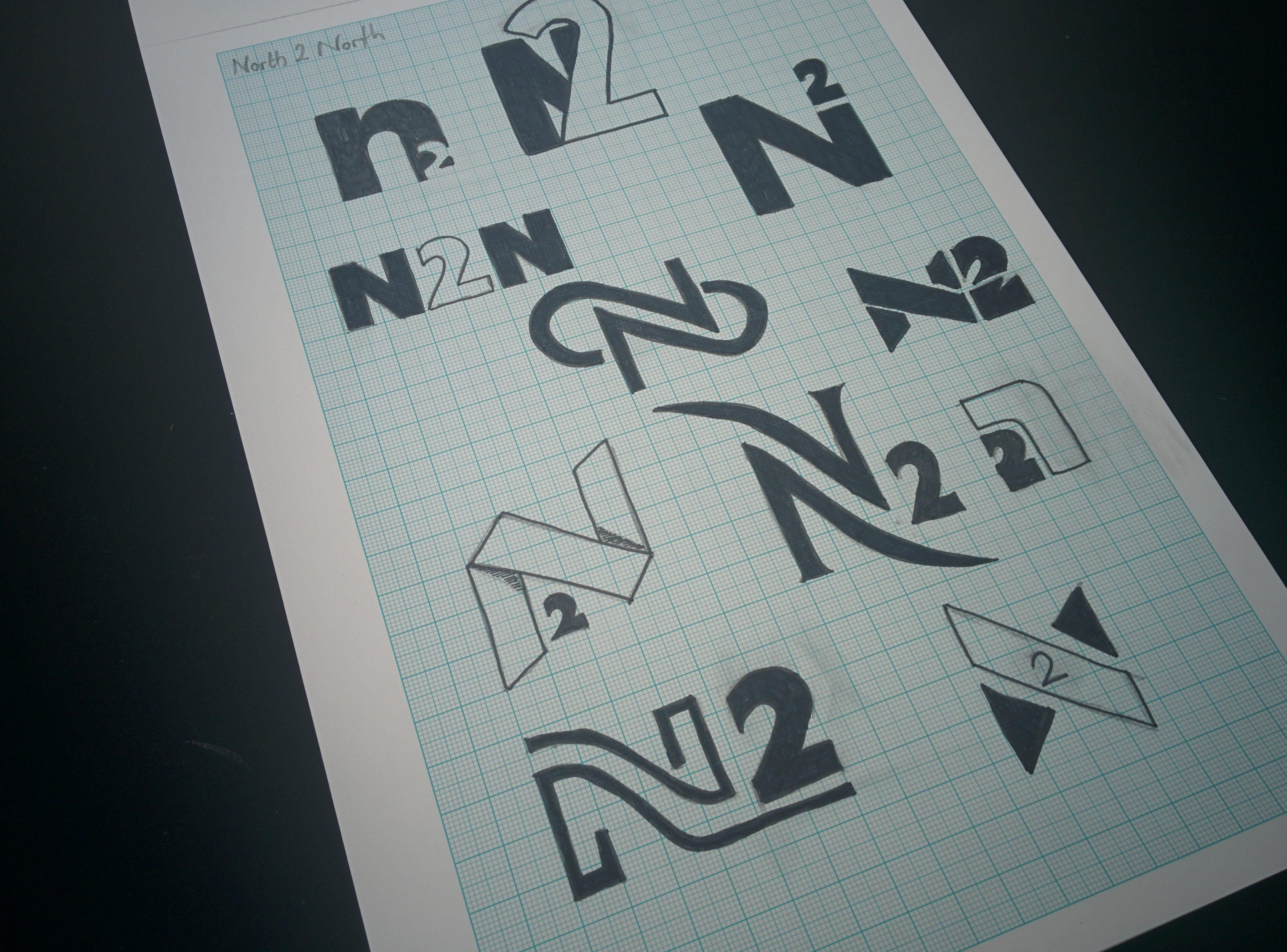 North 2 North Logo Design Clothing Brand
