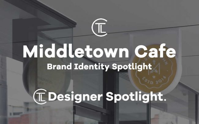 Middletown Cafe Brand Identity Spotlight