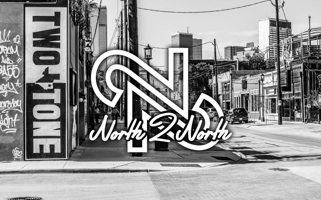 North 2 North Logo Design, Clothing Brand