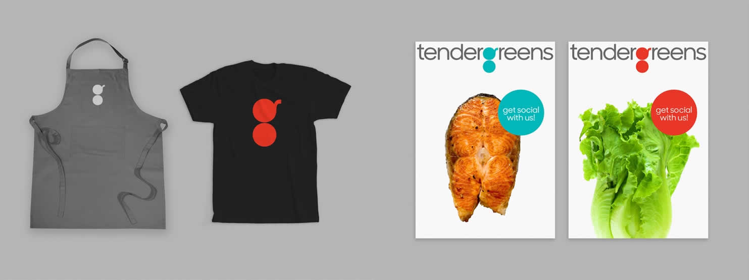 Tender Greens Brand Identity Design Spotlight