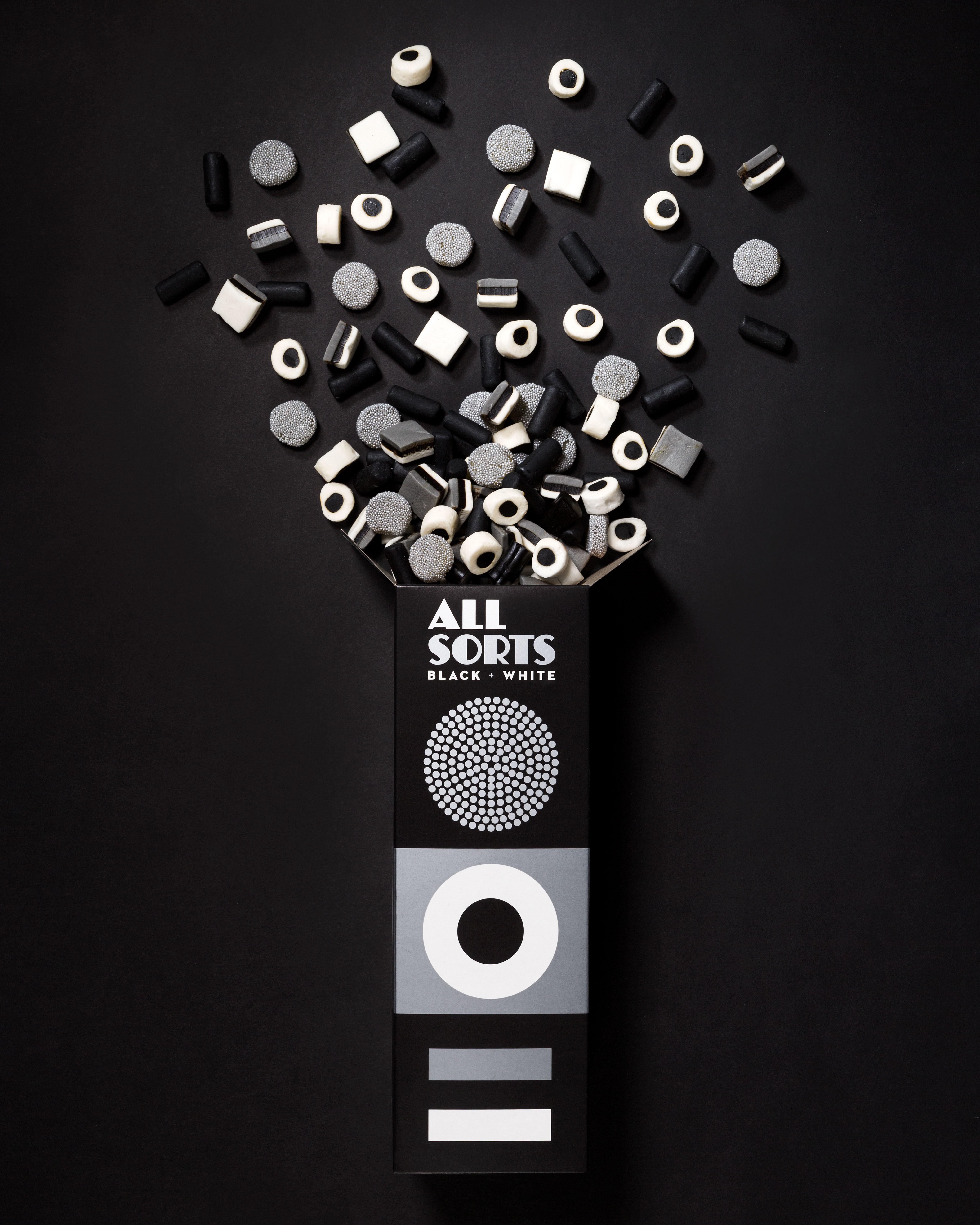 Allsorts Black & White Edition Packaging Spotlight