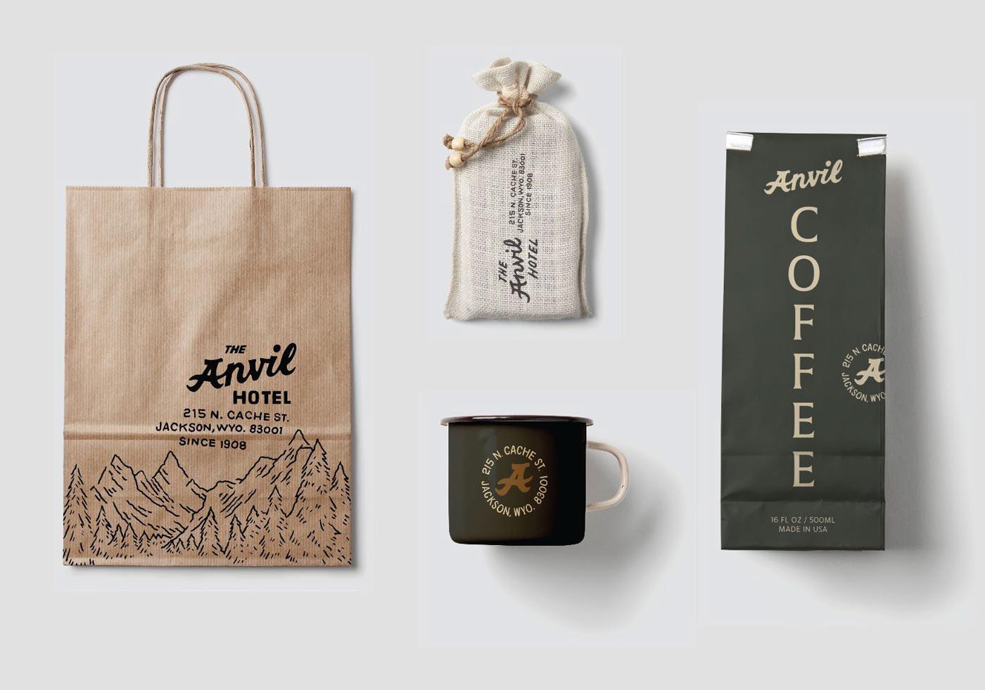 Anvil Hotel Brand Identity Spotlight