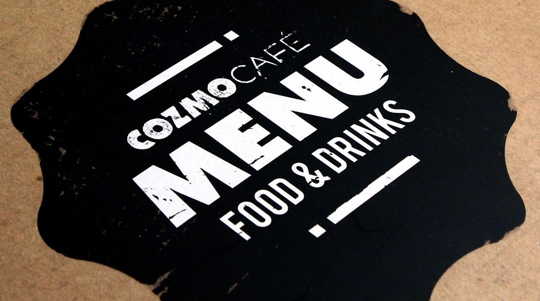 Cozmo Cafe Brand Identity Spotlight