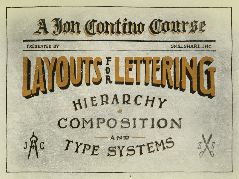 Layouts for Lettering: Hierarchy, Composition, and Type Systems