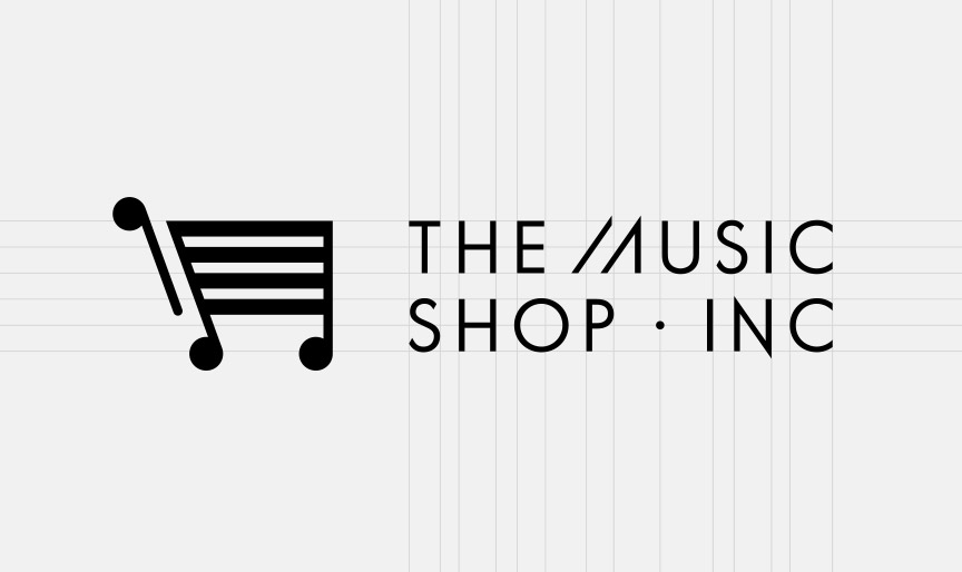 The Music Shop Inc Brand Identity Spotlight