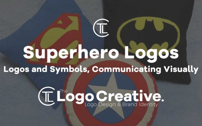 Superhero Logos and Symbols, Communicating Visually