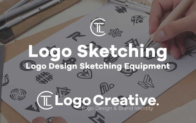 Logo Design Sketching Equipmentt