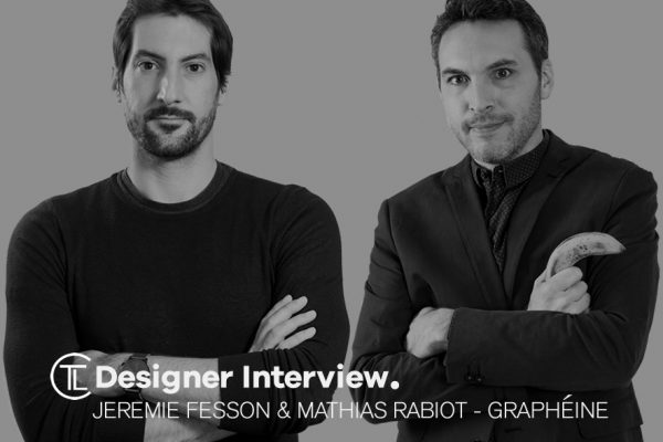 Designer Interview With Jeremie Fesson & Mathias Rabiot - Grapheine