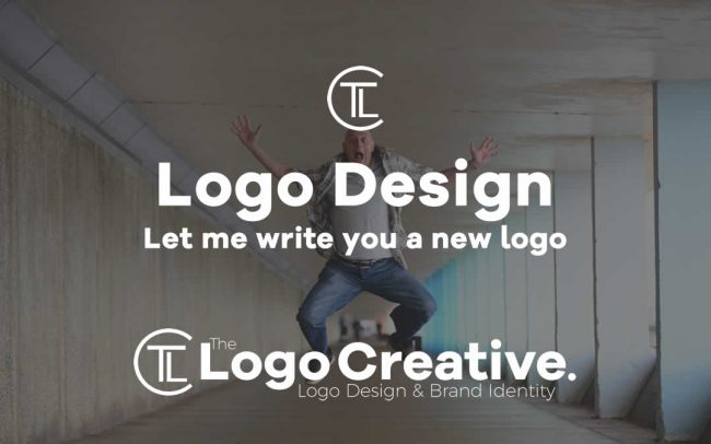 Let me write you a new logo