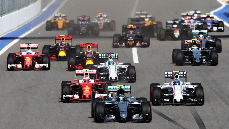 F1 Logo and Brand Spotlight