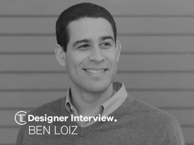 Ben Loiz Designer Interview.
