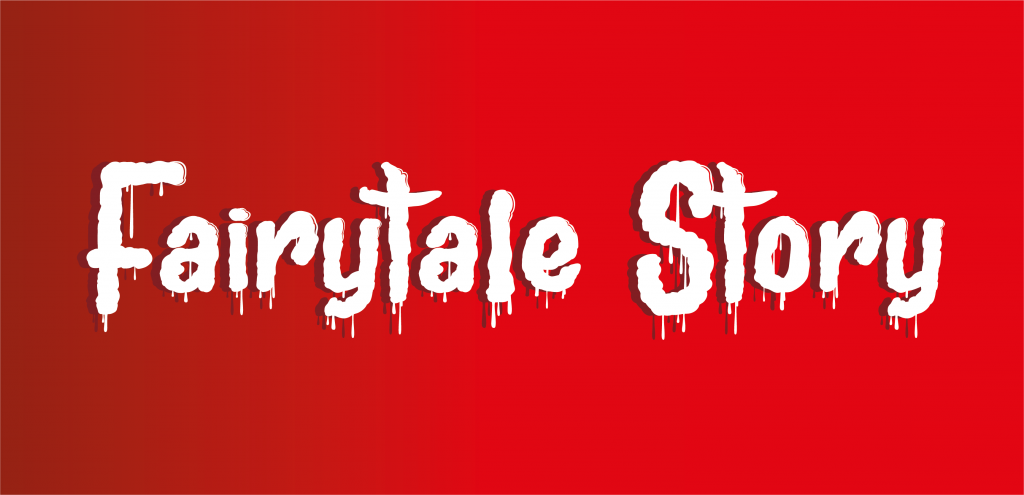 Fairytale Story_ Ironic Typography