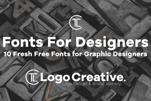 10 Fresh Free Fonts for Graphic Designers