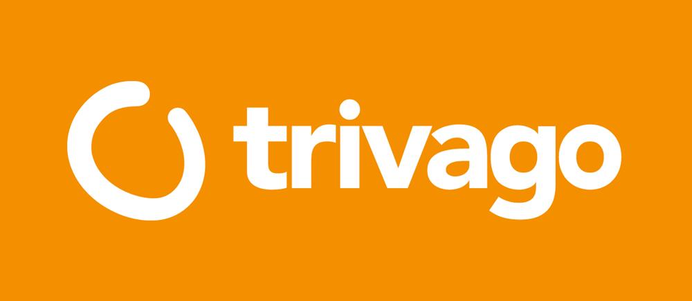 New Trivago Logo White