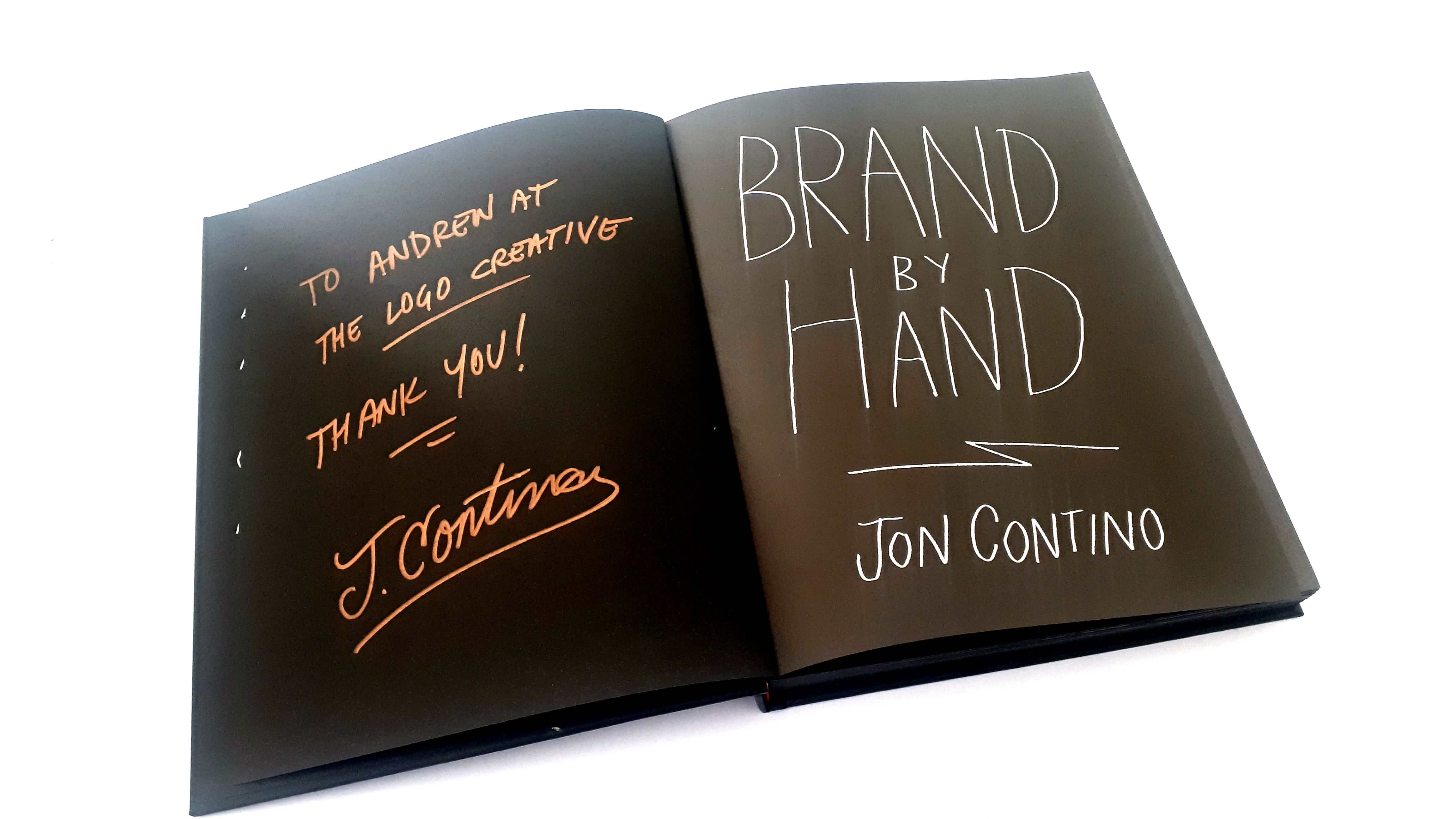 Brand By Hand By Jon Contino - Book Review